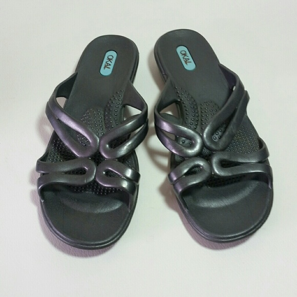 ae048329cbeac7 OKA b. Shoes - Oka Bee sandals gray size M shoes that love you